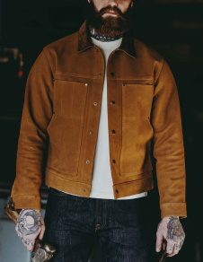 Roughout Leather Cruiser